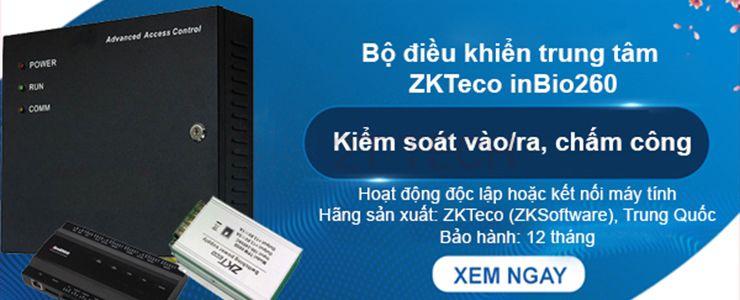 Bộ điều khiển trung tâm ZKTeco inBio260